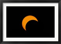Framed Partial Solar Eclipse (2012)