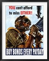 Framed Buy Bonds Every Payday