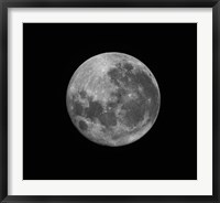 Framed Supermoon of March 19, 2011
