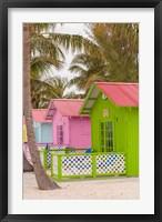 Framed Beach bungalow, Princess Cays, Eleuthera, Bahamas