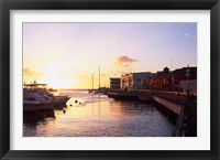 Framed Sunset, Bridgetown, Barbados, Caribbean