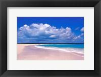 Framed Pink Sand Beach, Harbour Island, Bahamas