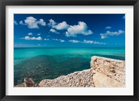 Framed Bahamas, Eleuthera Island, Glass Window Bridge