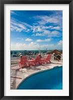 Framed Bahamas, Eleuthera, Harbor Island, Dunmore, Marina