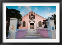 Framed Bahamas, Eleuthera, St Johns Anglican Church