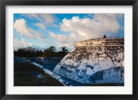 Framed Bahamas, Nassau, Fort Charlotte, Fortification