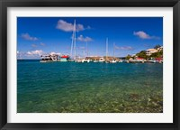 Framed Harbor, Leverick Bay Resort and Marina, BVI