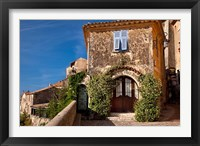 Framed Historic town of Eze, Provence, France