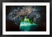 Framed Bat Cave in Airai, Palau, Micronesia