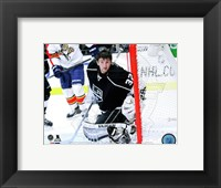 Framed Jonathan Quick 2014-15 Action