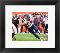 Framed J.J. Watt Defensive Action