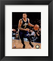 Framed Trey Burke 2014-15 Action