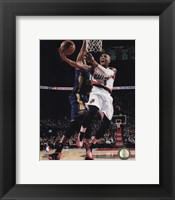 Framed Damian Lillard 2014-15 Action