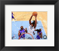 Framed Kenneth Faried 2014-15 Action