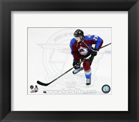 Framed Nathan MacKinnon 2014-15 Action