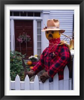 Framed Pumpkin Man, Vermont