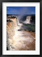 Framed Iguacu Falls, Brazil (vertical)