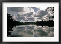 Framed Clouds over Amazon River, Amazon River Basin, Peru