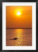 Framed Brazil, Amazon River, Fishermen