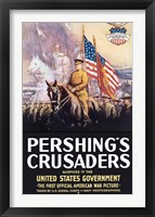 Framed Pershing's Crusaders