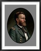 Framed Ulysses S Grant