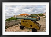 Framed Fortress de San Carlos de la Cabana, Havana, Cuba