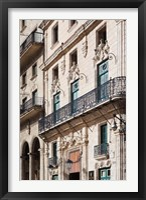 Framed Cuba Havana, Plaza de San Francisco de Asis, Hotel