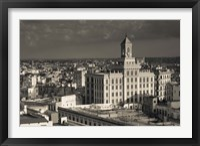 Framed Cuba, Havana, Edificio Bacardi building