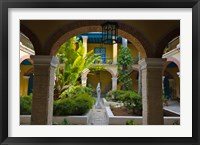 Framed Courtyard building, historic center, Havana, UNESCO World Heritage site, Cuba