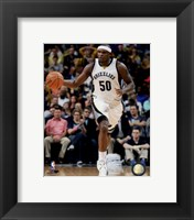 Framed Zach Randolph 2014-15 Action