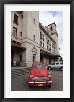 Framed Cuba, Havana, Central Train Station