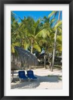 Framed Beach Chairs, Viva Wyndham Dominicus Beach, Bayahibe, Dominican Republic