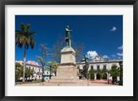 Framed Cuba, Matanzas, Parque Libertad, Monument
