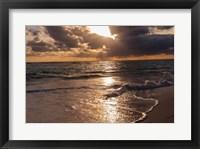 Framed Sunrise, Bavaro, Higuey, Punta Cana, Dominican Republic
