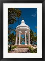 Framed Wedding gazebo, Riu Palace, Bavaro Beach, Higuey, Punta Cana, Dominican Republic