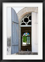 Framed 17th Century Church, Case-Pilote, Martinique, French Antilles, West Indies