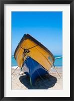 Framed Fishing Boats, Treasure Beach, Jamaica South Coast