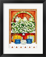 Framed Blossoming Kitchen II