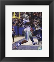 Framed Dez Bryant 2014 football