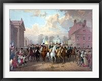 Framed George Washington and His Men