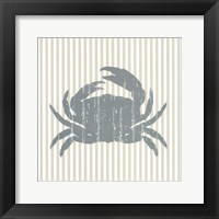From The Sea I Framed Print