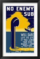 Framed No Enemy Sub