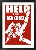 Framed Help the Red Cross
