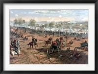 Framed Battle of Gettysburg