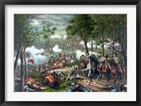 Framed Battle of Chancellorsville