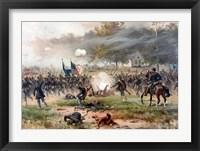 Framed Battle of Antietam