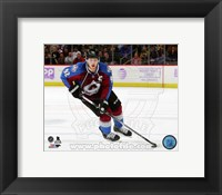 Framed Gabriel Landeskog 2014-15 Action