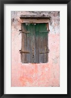 Framed Exterior of Building, St Pierre, Martinique, French Antilles, West Indies