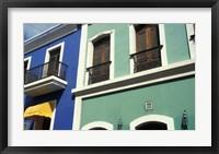 Framed Street Scene, Old San Juan, Puerto Rico