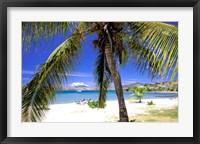 Framed Qualie Beach, Nevis, Caribbean